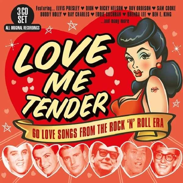 CD V/A - LOVE ME TENDER