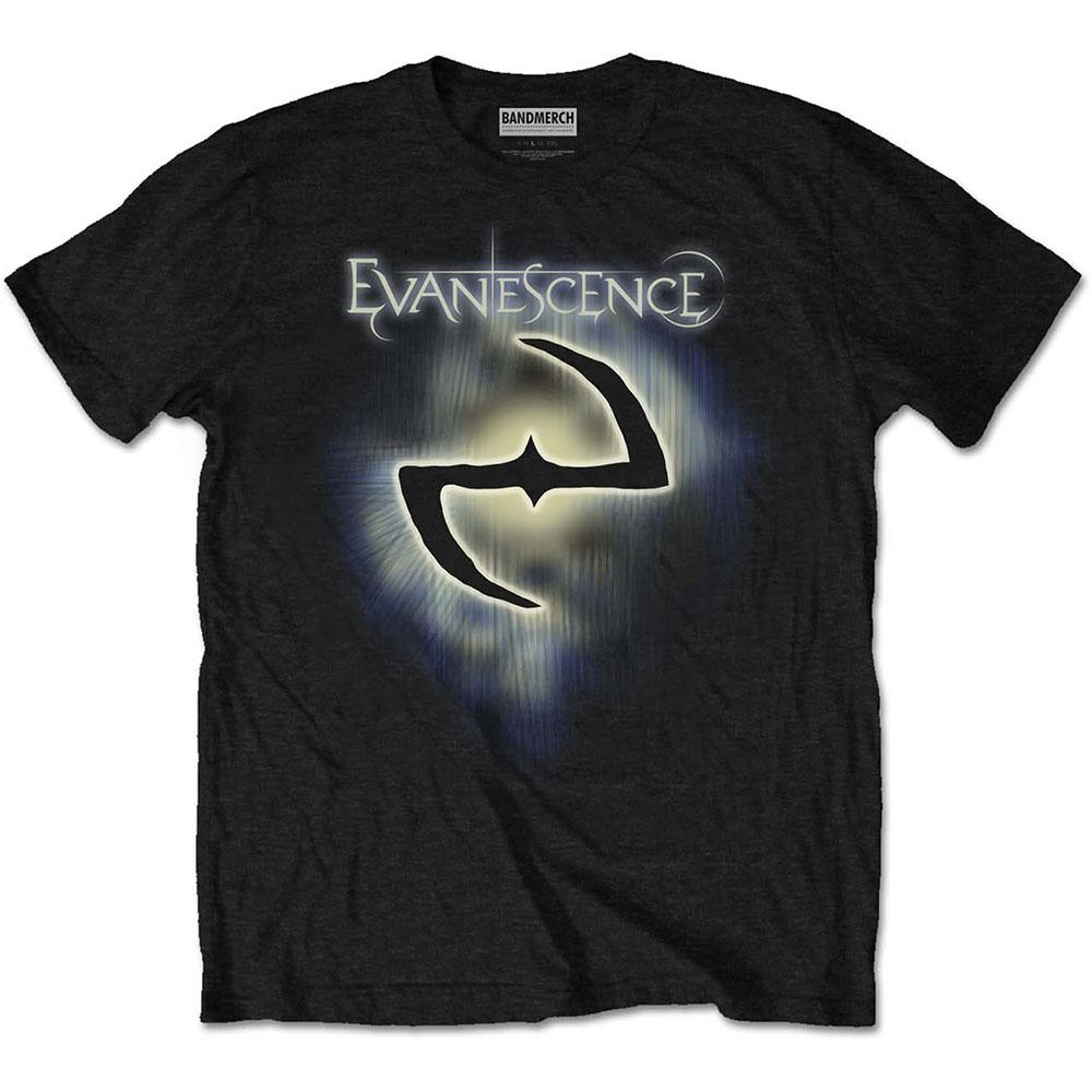 Evanescence - Tričko Classic Logo - Muž, Unisex, Čierna, L