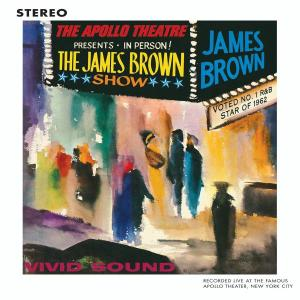 CD BROWN JAMES - LIVE AT THE APOLLO (1962)