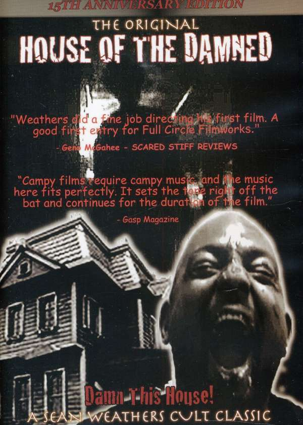 DVD MOVIE - HOUSE OF THE DAMNED
