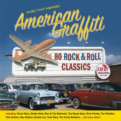 "CD V/A - MUSIC THAT INSPIRED ""AMERICAN GRAFFITTI"""