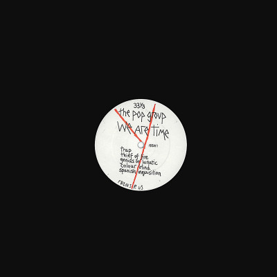 Vinyl POP GROUP - WE ARE TIME