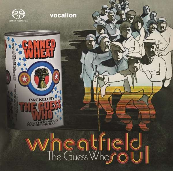 CD GUESS WHO - WHEATFIELD SOUL & CANNED WHEAT