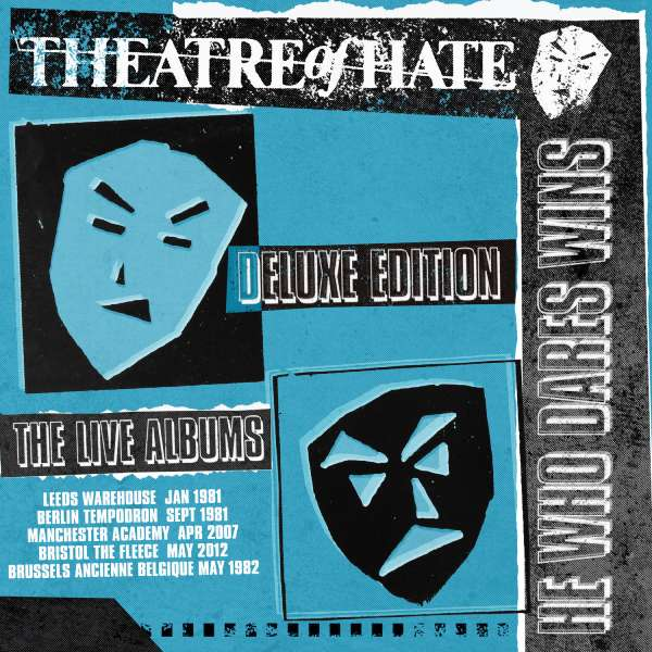 CD THEATRE OF HATE - HE WHO DARES WINS