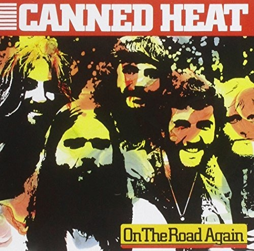 CD CANNED HEAT - ON THE ROAD AGAIN