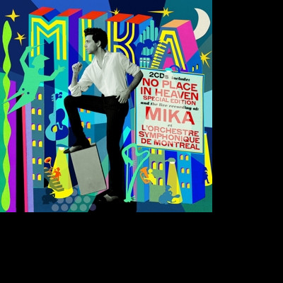 CD MIKA - NO PLACE IN HEAVEN