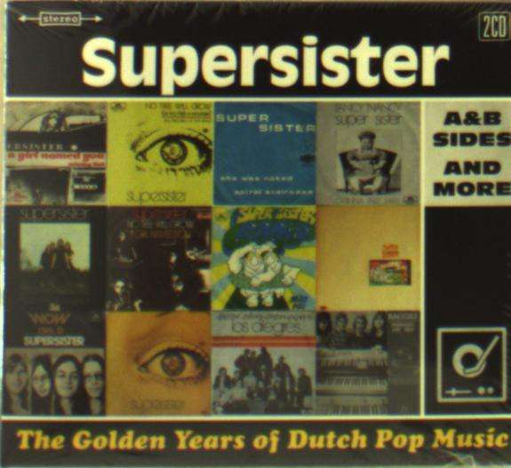 CD SUPERSISTER - GOLDEN YEARS OF DUTCH POP MUSIC
