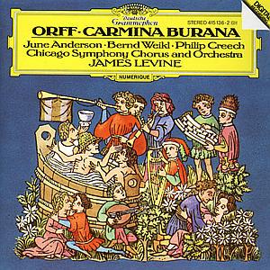 CD LEVINE/CSO - CARMINA BURANA