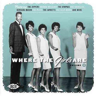 CD V/A - WHERE THE GIRLS ARE V.7