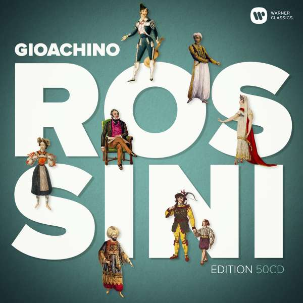 CD VARIOUS ARTISTS - ROSSINI (150TH ANNIVERSARY 50 CD DOUBLE BOX)