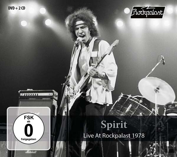 CD SPIRIT - LIVE AT ROCKPALAST 1978