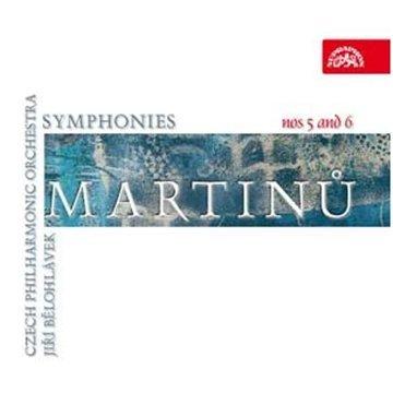 CD MARTINU BOHUSLAV MARTINU B. SYMFONIE C. 5, 6
