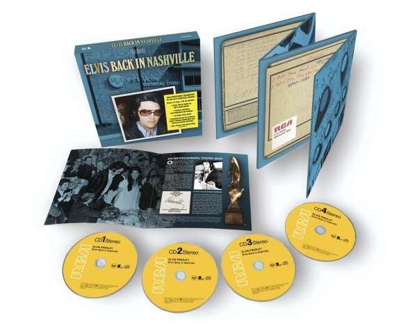 Elvis Presley - CD Back In Nashville