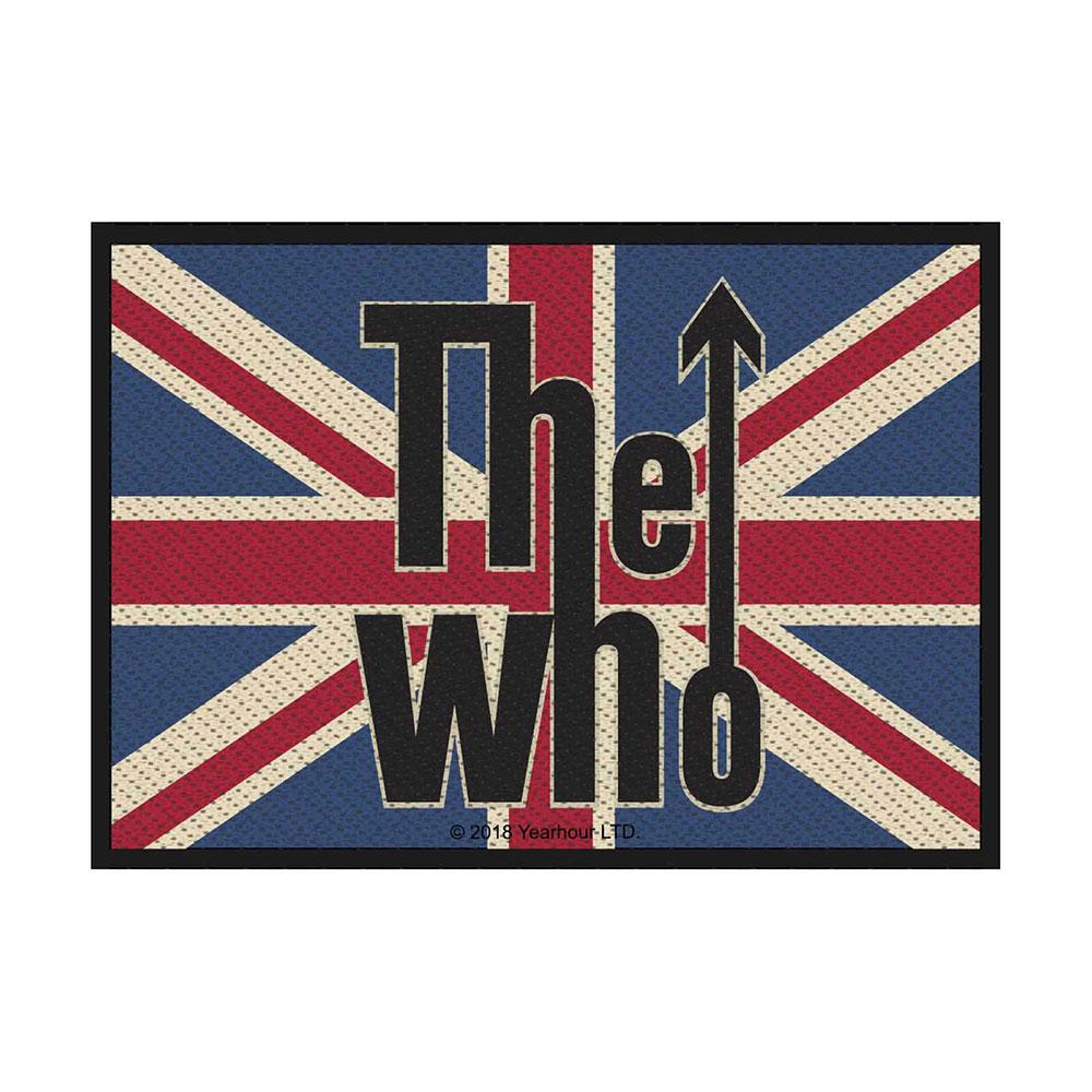 The Who - Nažehlovačka Union Flag Logo