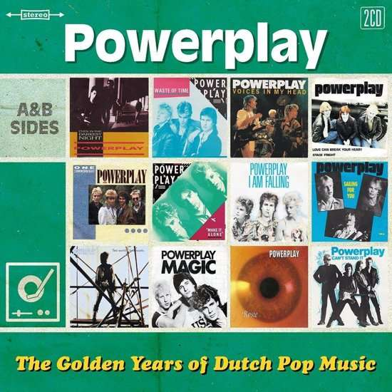 CD POWERPLAY - GOLDEN YEARS OF DUTCH POP MUSIC