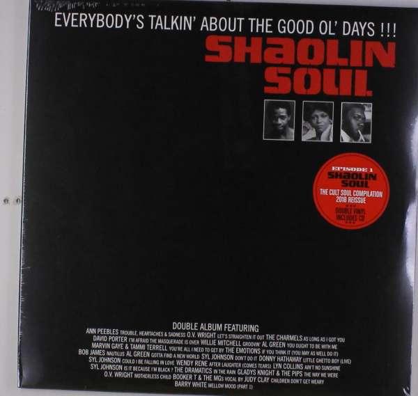 Vinyl V/A - SHAOLIN SOUL EPISODE 1