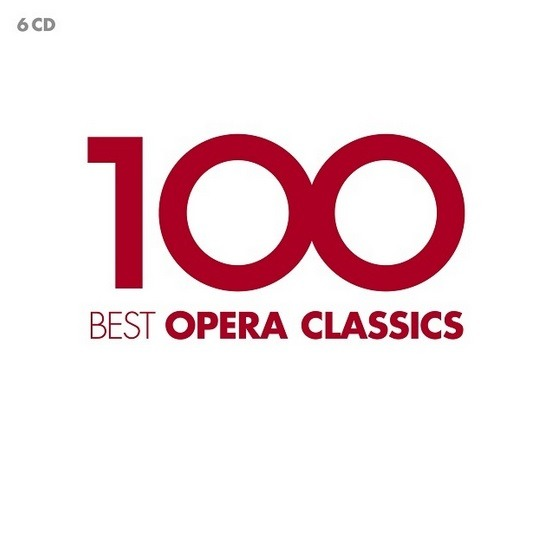 CD VARIOUS ARTISTS - 100 BEST OPERA CLASSICS