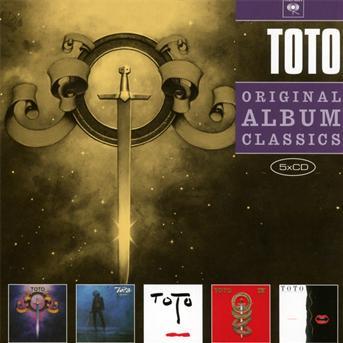 Toto - CD ORIGINAL ALBUM CLASSICS