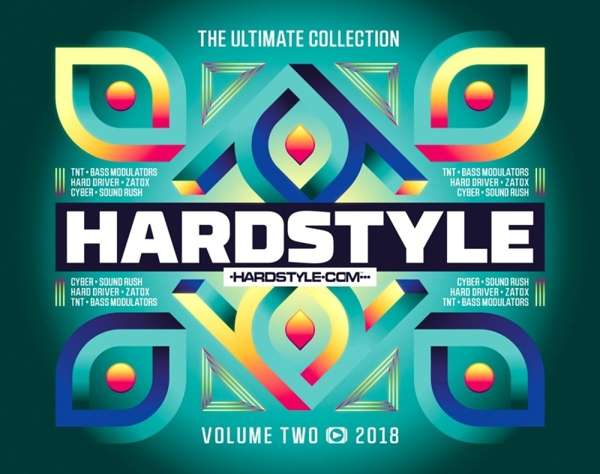 CD V/A - HARDSTYLE THE ULTIMATE COLLECTION VOLUME 2 - 2018