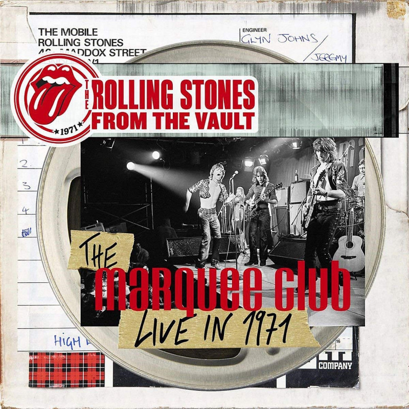 Rolling Stones - DVD FROM THE VAULT: THE MARQUEE CLUB LIVE IN 1971/CD