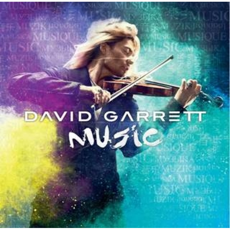 CD GARRETT DAVID - MUSIC