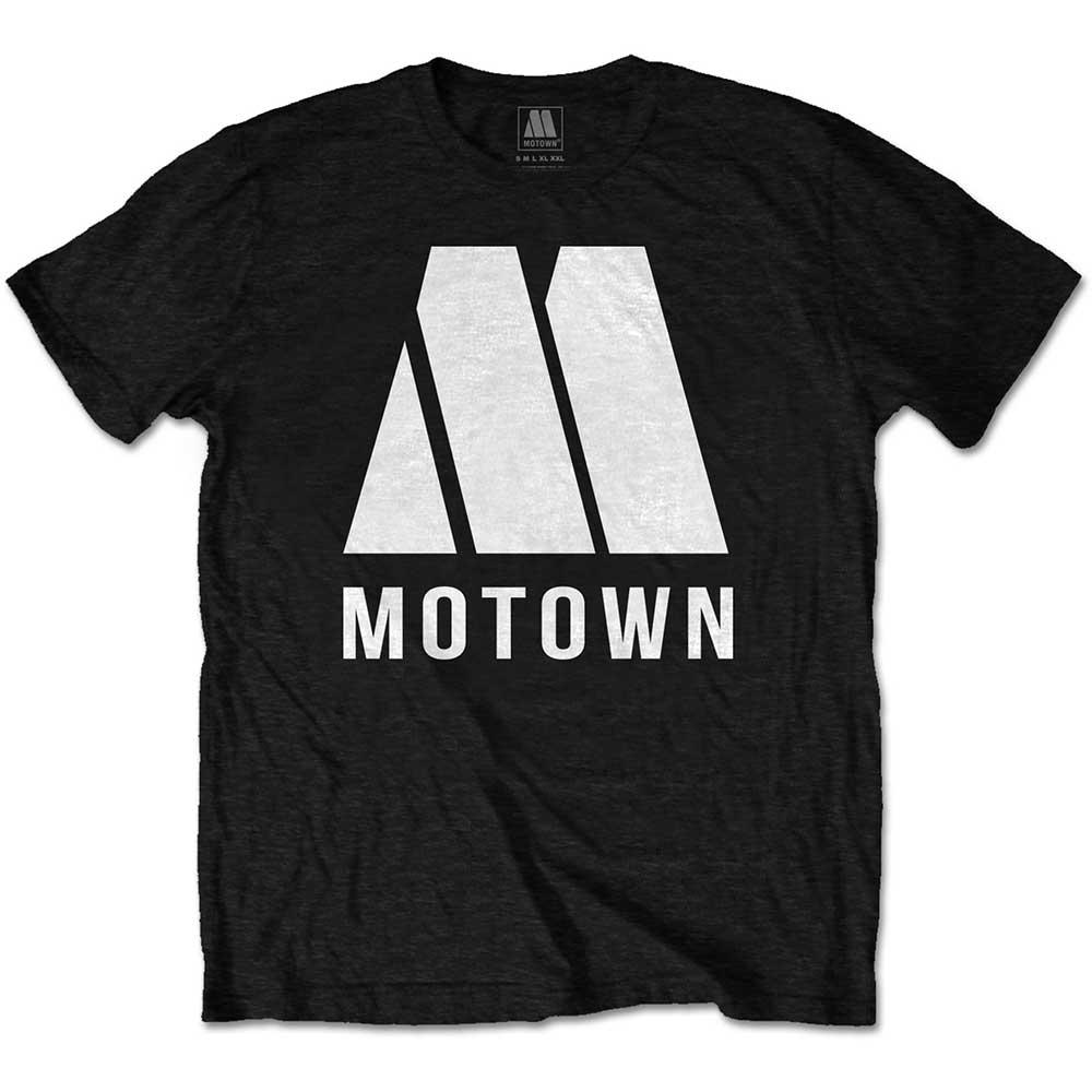 Motown - Tričko M Logo - Muž, Unisex, Čierna, L