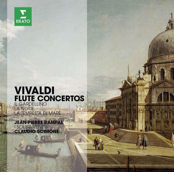 CD RAMPAL, JEAN-PIERRE/ISV/SCIMONE, C. - THE ERATO STORY. VIVALDI: FLUTE CONCERTOS