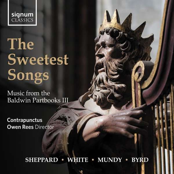 CD CONTRAPUNCTUS - SWEETEST SONGS: MUSIC FROM THE BALDWIN PARTBOOKS III