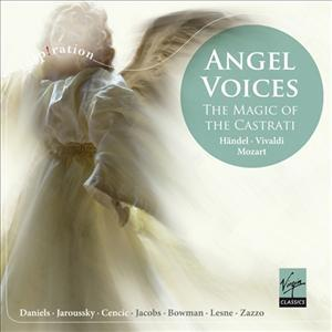 CD VARIOUS ARTISTS - ANGEL VOICES: THE MAGIC OF THE CASTRATI
