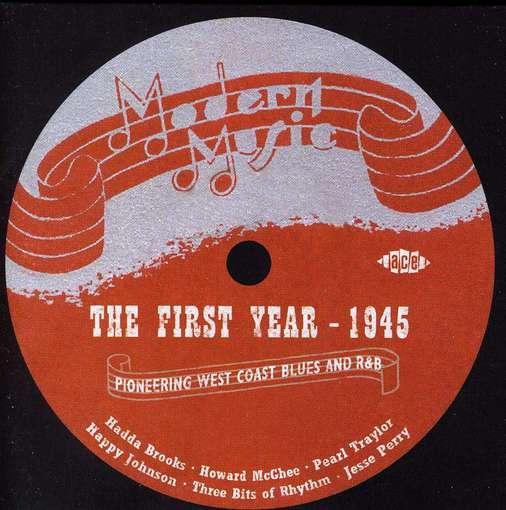 CD V/A - MODERN MUSIC -FIRST YEAR 1945