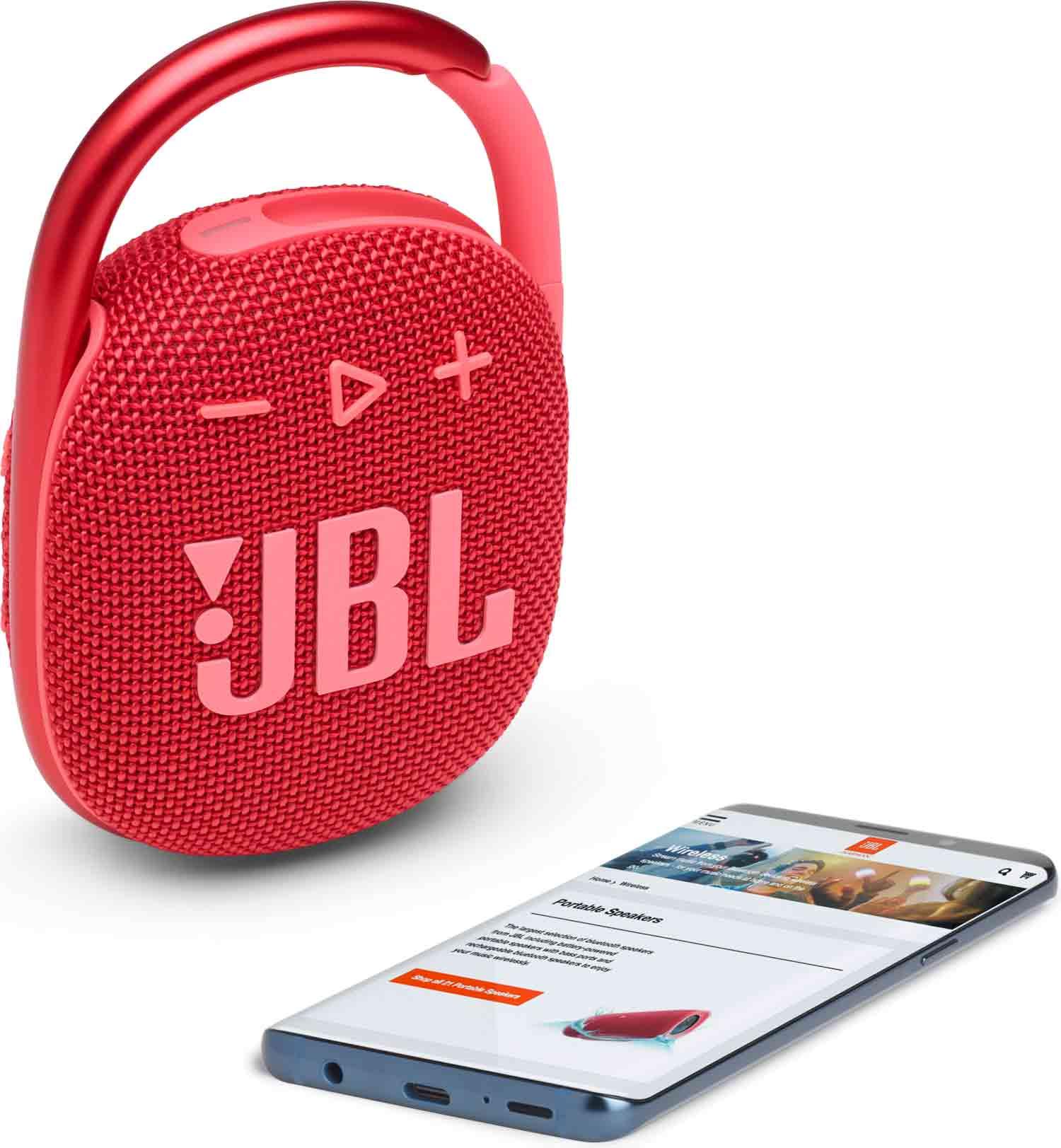 Reproduktor JBL Clip 4 Red