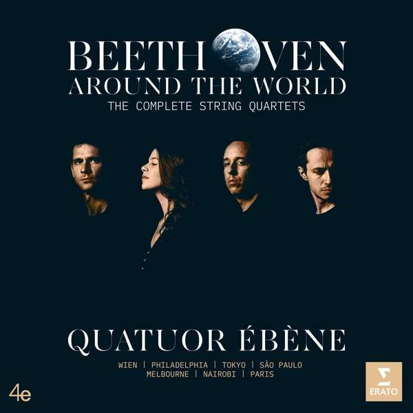 CD BEETHOVEN AROUND THE WORLD [THE COMPLETE STRING QUARTETS]