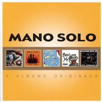 CD MANO SOLO - ORIGINAL ALBUM SERIES