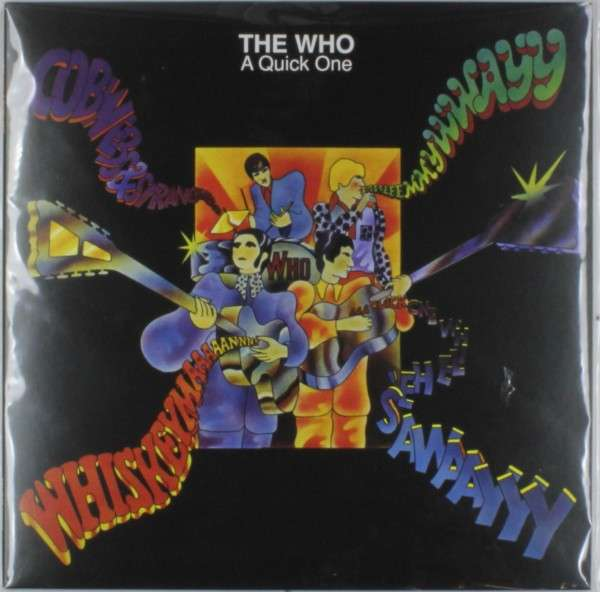 Vinyl WHO THE - A QUICK ONE