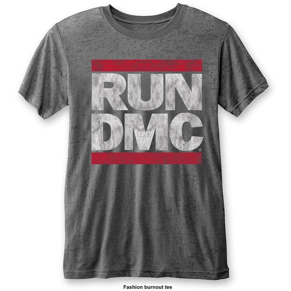 Run-DMC - Tričko DMC Logo - Muž, Unisex, Šedá, XL