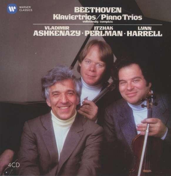 CD PERLMAN, ITZHAK/VLADIMIR ASHKENAZY/LYNN HARRELL - BEETHOVEN: COMPLETE PIANO TRIOS