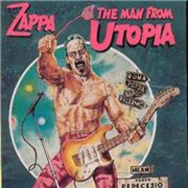 Frank Zappa - CD THE MAN FROM UTOPIA