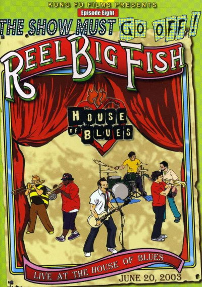 DVD REEL BIG FISH - LIVE AT THE HOUSE OF BLUE