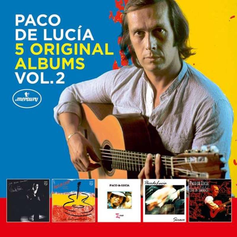 CD DE LUCIA PACO - 5 ORIGINAL ALBUMS VOL. 2