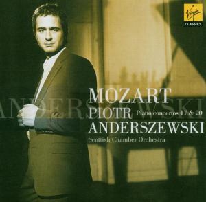 CD ANDERSZEWSKI - PIANO CONCERTOS 17 & 20