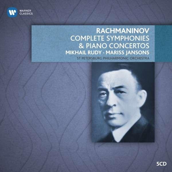CD RUDY/JANSONS - RACHMANINOV: PIANO CONCERTOS & ORCHESTRAL WORKS