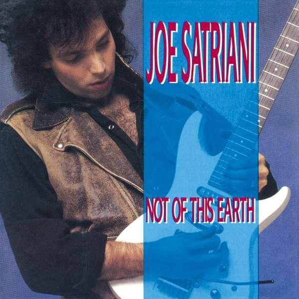 CD SATRIANI, JOE - NOT OF THIS EARTH