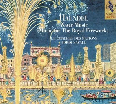 CD HANDEL, G.F. - WATER MUSIC/MUSIC FOR THE ROYAL FIREWORKS