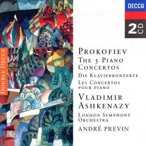 CD ASHKENAZY VLADIMIR - KONCERTY PRO KLAVIR 1-5