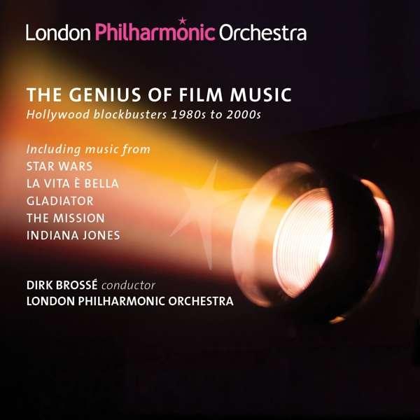 CD LONDON PHILHARMONIC ORCHESTRA - GENIUS OF FILM MUSIC HOLLYWOOD 1980 - 2000