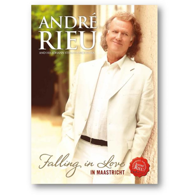 DVD RIEU ANDRE - FALLING IN LOVE IN MAASTRI