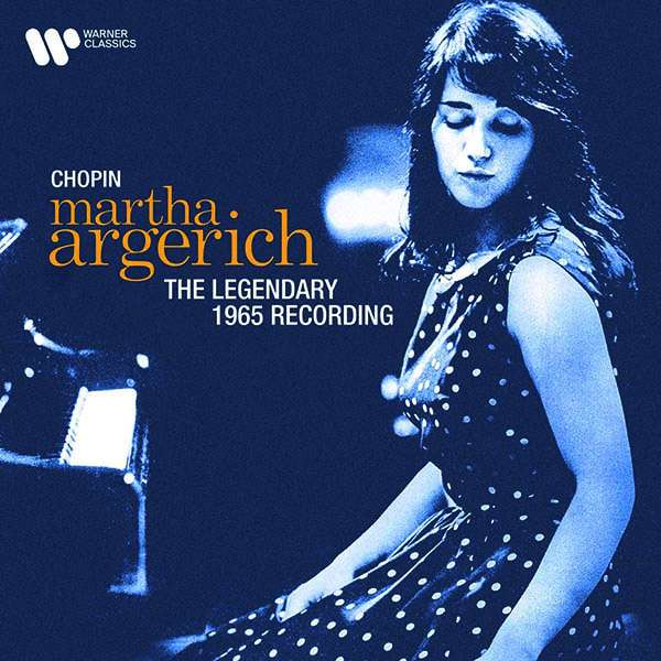 CD ARGERICH, MARTHA - CHOPIN: THE LEGENDARY 1965 RECORDING (REMASTERED 2021)