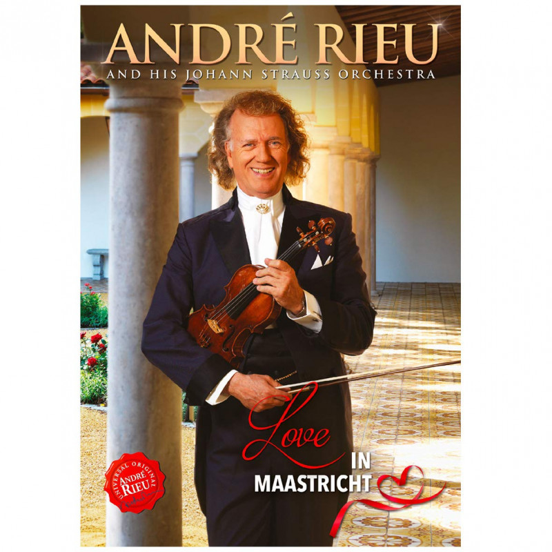 DVD RIEU ANDRE - LOVE IN MAASTRICHT