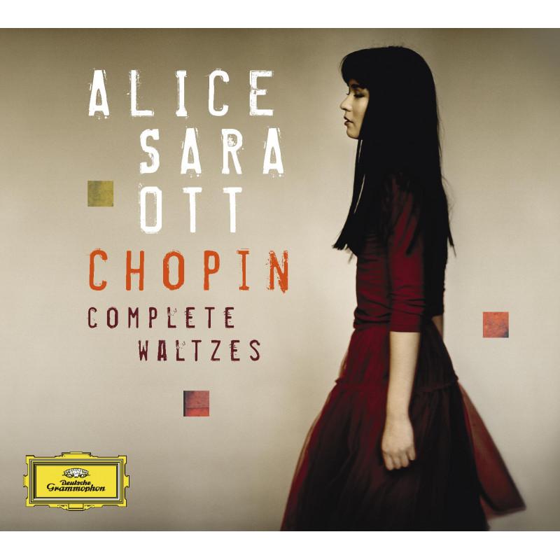 CD OTT ALICE SARA - CHOPIN: VALČÍKY-KOMPLET