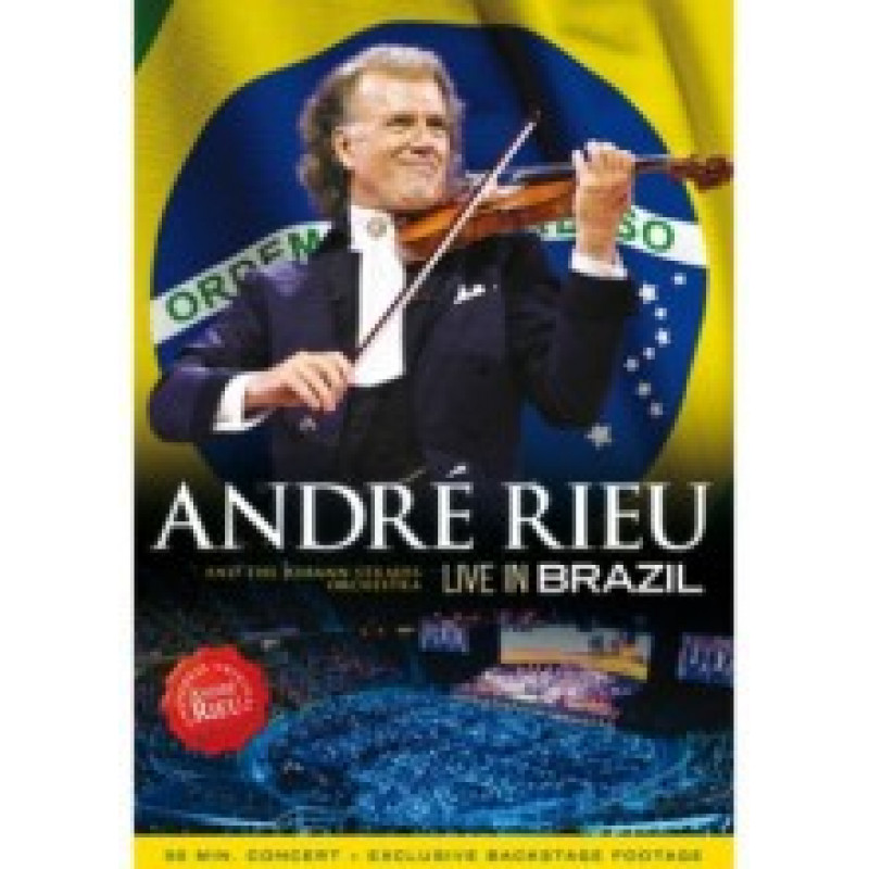 DVD RIEU ANDRE - LIVE IN BRAZIL